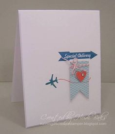 Sent with Love Bundle from Stampin Up. So cute and simple.