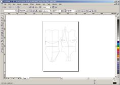Article from Patternschool.com about using 'CAD Software' (e.g. Corel Draw, AutoSketch (AutoCAD) and Adobe Illustrator) for digital pattern making / cutting / drafting. ***SEE MY NOTES BELOW FOR A SHORT QUOTED EXCERPT FROM THIS ARTICLE***