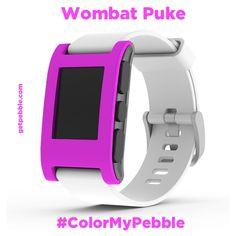 """""""Wombat Puke,"""" care of Dave V. on Kickstarter. Don't look at me, I just mock 'em up ;P"""
