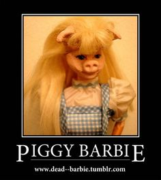Piggy Barbie - Dress Up Barbies