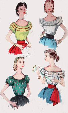 1950s Vintage Sewing Pattern Simplicity 4678 by sandritocat, $18.00