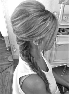 Everyday Hairstyles for French Braid