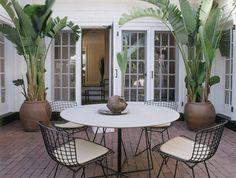 contemporary patio by Thom Filicia Inc.