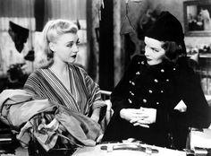 Ginger Rogers and Katharine Hepburn in Stage Door (1937).