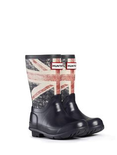Original Kids British Wellington Boot by Hunter