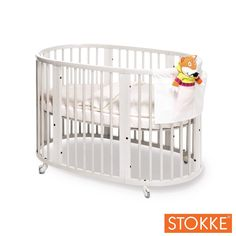 STOKKE SLEEPI Crib - White - Free Shipping