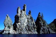 lake nation, crater lake, phantom ship