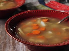 Rainy Day Chicken and Rice Soup Recipe : Trisha Yearwood : Food Network - FoodNetwork.com
