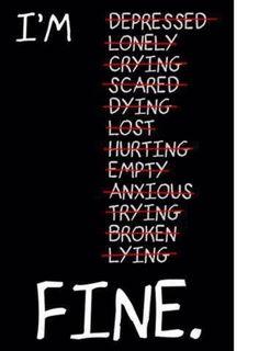I AM (not) FINE