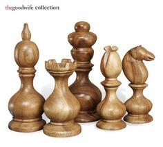h6lf1 bernard, chess pieces, accessori, bernard chess, dream room