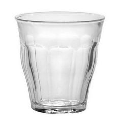 Picardie Tumbler, Clear, 4.4-ounce, Set of 6
