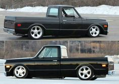 Classic Chevy truck..