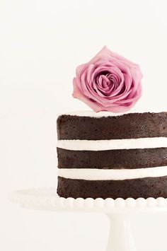 Naked Chocolate Cake