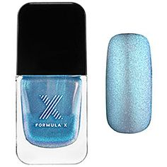 Obsessed with the new, exclusive #FormulaX Liquid Crystals. You can never have too many sparkles. #Sephora #nailspotting