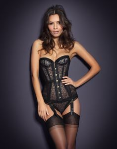 Mercy by Agent Provocateur - Mercy Corset....Lord have mercy....what I would do for this corset ;)