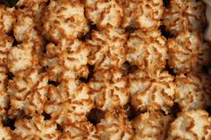 Vegan Coconut Macaroons #vegan #dessert #recipes