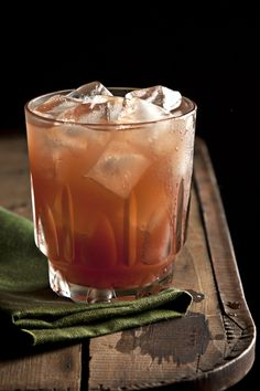 Red Riding Hood:  2 oz. root beer liquor (like Root)   2 oz. fresh lemon juice  1½ oz simple syrup  2½ tsp. red currant preserves