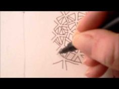▶ How to draw tanglepattern Frosty - YouTube