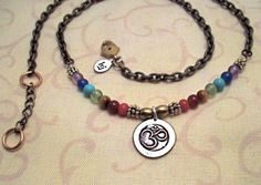 OM necklace on Etsy