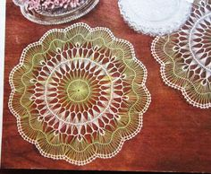Hairpin Crochet Instructions | Crochet Pattern Vintage 1950s Hairpin Lace Doily by kayandelle