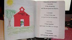 classroom, poetry 1st grade, idea, journals, school, poetri journal, poem, teach, 1st grade poetry