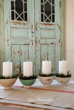 Advent Wreath :: Whi