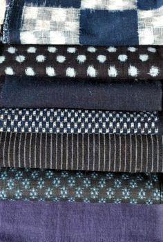 Vintage japanese fabric, zakka quilting fabric via katemakes.