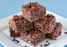 chocolate rice crispy bars chocol rice, sweet, chocolates, rice crispi, rice krispi, food, recip, bar, krispi treat