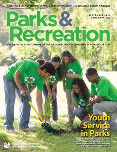 NRPA Parks & Recreation Magazine September 2014