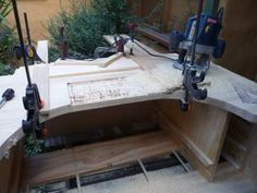 Home made jewelers bench