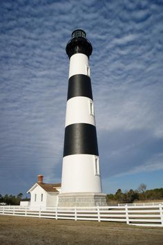 The Bodie Island Lighthouse in Cape Hatteras, NC is now open to the public after undergoing a few years of restoration.