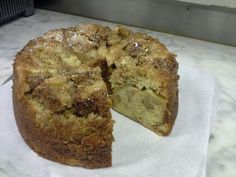 Amy's Apple Honey Walnut Cake