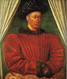Charles VII - 1403-1461 - roi à partir de 1429 - fils de Charles VI et Isabeau de Bavière - (père de Louis XI) - Dynastie des Valois - le Louvre Paris