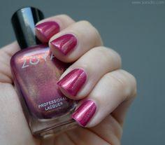 sonidlo´s nail polishes: Zoya Evangeline