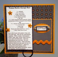 reduc weight, recip card, heirloomvintag recip, scrapbook recip, recip scrapbook, 6x6 recip, scrap recip, loss recip, scrapbookrecip