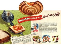 Pie: Toas-Tite Pudgy PIes (I want one!)