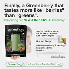 #Greenberry recipes!