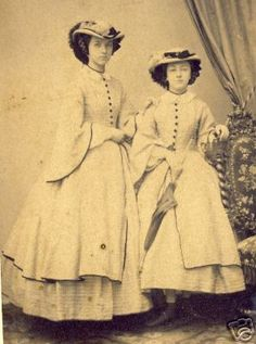 Historical Timekeepers - 1860's Fashion Hats  Bonnets