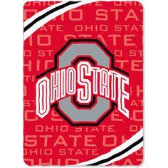 NCAA Ohio State Buckeyes Fleece Blanket {Jordan}