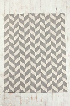 Herringbone Rug  for grey & ? (yellow, rose, any color because they all go well with grey) room