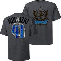 "Dallas Mavericks Dirk Nowitzki #41 ""Redirkulous"" Notorious T-Shirt"