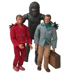 """Six Million Dollar Man Action Figures -   Few action figures were cooler than Steve Austin from """"The Six Million Dollar Man,"""" who came complete with a huge eye to look through and peel-back rubber arm skin that revealed his bionics. Bionic Bigfoot was his worthy adversary, along with his boss, Oscar Goldman."""