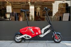 The Voltitude V1 folding electric bike, photographed by Arnaud Lambert
