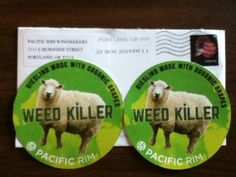 Weed Killer Stickers