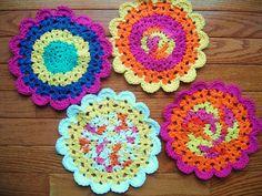 Flower Dish Cloth