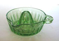 juicer, glass deep, vaselin glass, depress glass