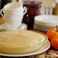 Pumpkin Cheesecake Mousse Pie- making this for Thanksgiving!