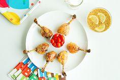 Lollipop Chicken with Candy Glaze