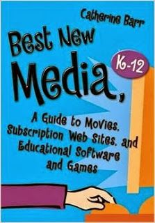 Barr, Catherine. Best New Media, K-12: A Guide to Movies, Subscription Web Sites, and Educational Software and Games. Westport, CT: Libraries Unlimited, 2008.