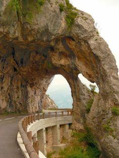 The road to Gréolières, Alpes-Maritimes, France